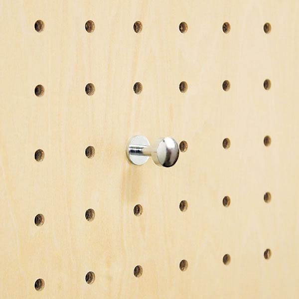 有孔ボード用 フック ゆうこう 穴あきボード ディスプレイ 収納 ボード 壁掛けボード キーホルダー 壁 壁掛け MR4364