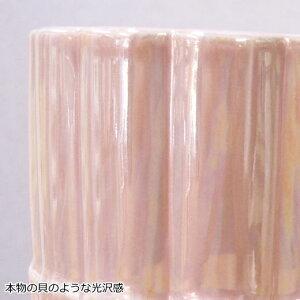洗面用コップラナクレルポット陶器製人気のシェルの形のおしゃれでかわいいのデザイン。うがいコップや歯磨きのコップ、歯ブラシのスタンドなどに洗面用コップですあす楽対応