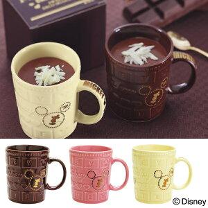 マグカップ ディズニー デコチョコマグ バレンタイン プレゼント ミッキーマウス