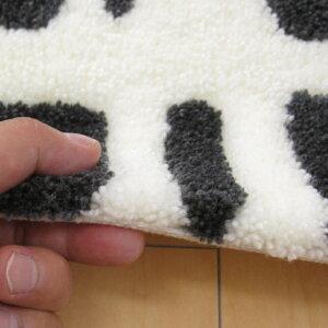北欧Finlayson/フィンレイソン玄関マット室内45×70cm『CORONNA/コロナ』ブラックシンプルなモノトーンカラーがモダンな印象。洗える(ウォッシャブル)屋内用の玄関マットです。【あす楽対応】【楽ギフ_包装】【RCP】