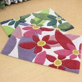 玄関マット 室内 花柄 60×90 シビラ ブランド『マランタ』