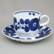 和食器コーヒーカップ&ソーサー『白山陶器ブルーム』