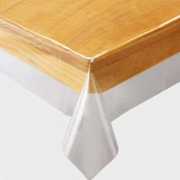 テーブルクロス ビニール 『透明ビニールクロス』 撥水 正方形 90×90cm