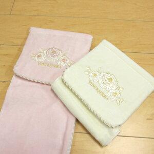 ペーパーホルダーカバー『YUMIKATSURA/桂由美グラデーションローズアイボリー・ピンク』