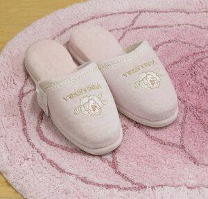 トイレスリッパ『YUMIKATSURA/桂由美グラデーションローズアイボリー・ピンク』