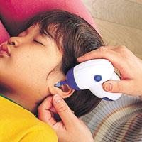 耳掃除、耳かきを嫌がるお子様にも。痛くない耳かきです耳すっきりクリーナー 【ブルー】 ス...