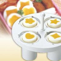 星型のゆで卵ができる調理グッズ ゆで玉子器 ドリームランド【星型のゆで卵ができる調理グッズ...