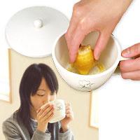 冷え症にしょうが♪生姜をすってそのまま使えるマグカップタイプ食材をすりおろせるスープカッ...
