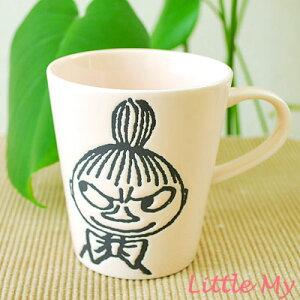 シンプルデザインが人気♪ムーミンのミィのマグカップ♪シンプルだから使いやすい♪ ムーミン・...