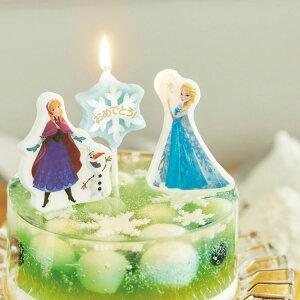 ディズニー キャラクター パーティーキャンドル アナと雪の女王【キャンドル】【ディズニー】【アナ雪】【Disney】【アナ】【エルサ】【オラフ】【バースディー】【キャンドル】