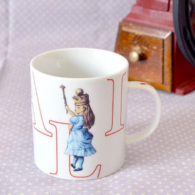 不思議の国のアリス マクミラン 食器シリーズ マグカップ可愛いアリスグッズ♪アリス マグ不思...