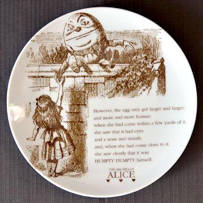 不思議の国のアリス マクミラン 食器シリーズ ケーキプレート 皿可愛いアリスグッズ♪アリス ケ...