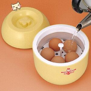とろ~り温泉たまごができる温泉卵メーカー。たまごちゃん半熟卵を簡単に作る 温泉たまご器 た...