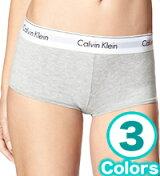 【3枚までメール便送料無料】CKCalvinKleinカルバンクラインアンダーウエアモダンコットンボーイショーツヒップハング3カラー【女性レディース下着パンツ大きいサイズ】