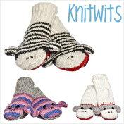 KNITWITSDeluxニットウィッツキュートソックモンキーミトングローブ靴下モンキーミトン手袋