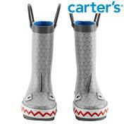 Carter'sカーターズシャーク長靴鮫サメレインブーツ雨雪キッズ/子供用女の子/男の子【再入荷なし/現品限り】