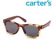 【メール便可】Carter'sカーターズべっ甲柄サングラスブラウン/クリアベビー/キッズ/子供用UVカット