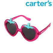 【メール便可】Carter'sカーターズイチゴいちごストロベリー型サングラスクリアピンクラメベビー/赤ちゃんキッズ/子供用UVカット