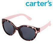 【メール便可】Carter'sカーターズピンクレオパードヒョウ柄サングラスベビー/赤ちゃんキッズ/子供用UVカット