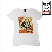 OBEYオベイRIPMCAビースティーボーイズMCA追悼レディースTシャツ