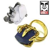 【SALE】OBEYオベイマニアックマニリング指輪ゴールド/シルバーレディースセール