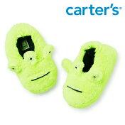 Carter'sカーターズエイリアンふわふわスリッパ室内履きキッズ/子供用