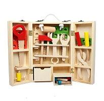 大工さんセットおもちゃ知育玩具木製玩具木のおもちゃ男の子・女の子3歳以上のお子様に最適!