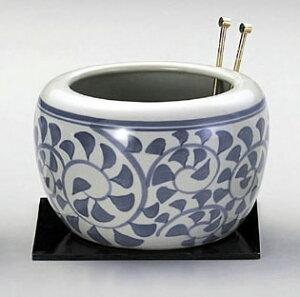 火鉢(大)・タコ唐草