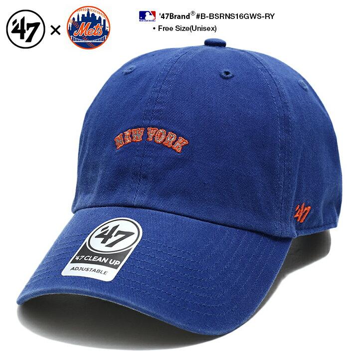 メンズ帽子, その他 47 MLB Mets 47brand cap b B-BSRNS16GWS-RY