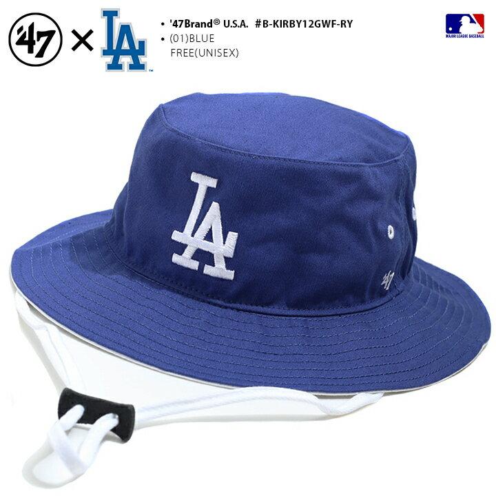 メンズ帽子, ハット 47 MLB Dodgers LA 47brand hat b B-KIRBY12GWF-RY