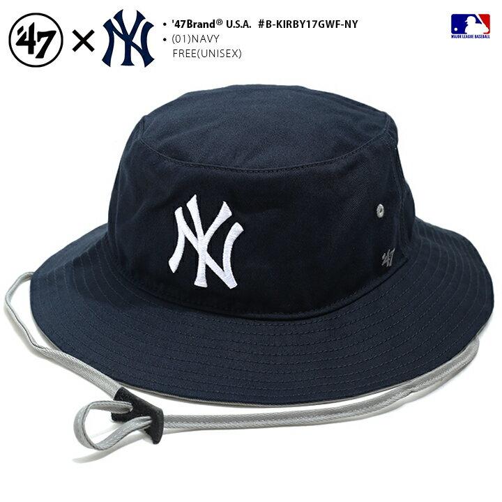 メンズ帽子, ハット 47 47brand MLB NY hat b B-KIRBY17GWF-NY