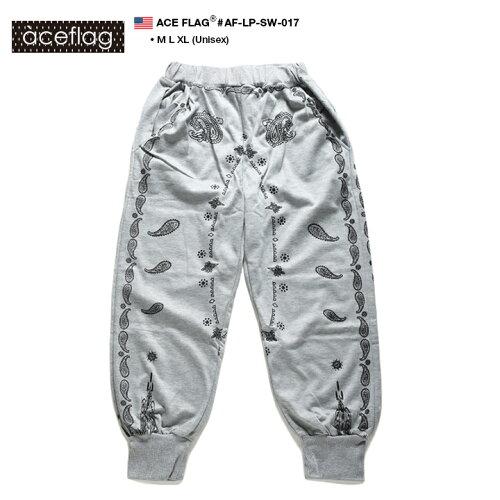 b系 ヒップホップ ストリート系 ファッション レディース ロングパンツ ACE FLAG/エースフラッグ【...