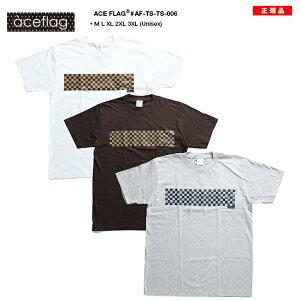 ストリート ファッション レディース Tシャツ フラッグ ブロック チェック