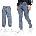 【送料無料】b系 ヒップホップ ストリート系 ファッション メンズ レディース ジーンズ 【CN-LP-DE-007】 クラブノイズ CLUB NO1Z ケミ…
