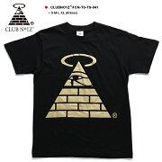 ストリート ファッション レディース Tシャツ DEATHPYRAMID デスピラミッド ブランドアイコン プリント