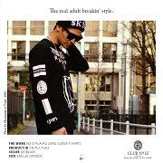 ストリート ファッション レディース Tシャツ ボックス ナンバー スタイル