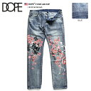 【送料無料】 ドープ DOPE デニム スリムフィット 【D2017-...