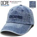 ドープスポーツ DOPE SPORTS 帽子 キャップ 【D0318-H241-BLU】 メンズ レ ...