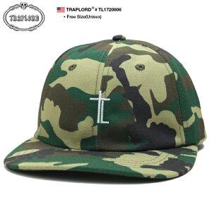 トラップロード TRAPLORD 帽子 キャップ スナップバック CAP メンズ レディース 緑迷彩 男女兼用 b系 ヒップホップ ストリート系 ファッション ブランド 十字架 クロス 定番 ロゴ 刺繍 迷彩 総柄 シンプル ワンポイント かっこいい おしゃれ エイサップ モブ TL1720806