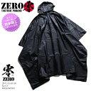タクティカル レインコート 【ZR-TL-OU-001-BK】 ...