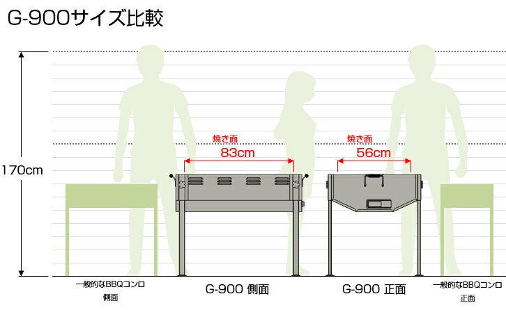ホンマ製作所『大型バーベキューコンロ(G-900)』