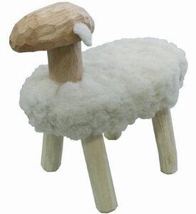 【羊 置物】【羊 スツール】【北欧】【木製】【送料無料】羊のスツール Mee(メー)【スツー...