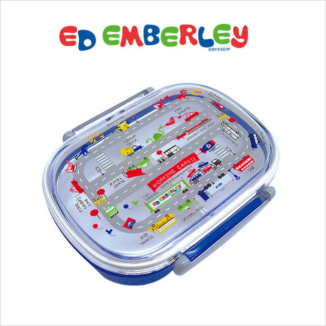 優しいキャラクターでお子様のランチタイムを楽しく! ED EMBERLEY(エドエンバリー)ランチボックス