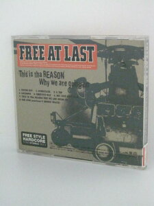 H4 13018【中古CD】「This is tha REASON Why we are going on」FREE AT LAST