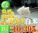 29年産新米コシヒカリ25kg 【送料無料】※一部地域送料別...