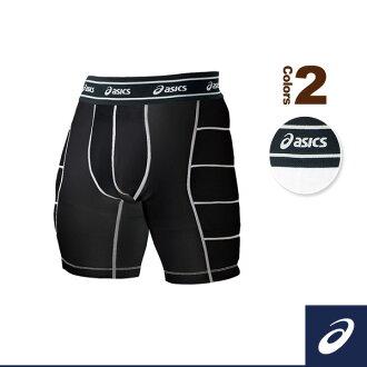 滑動的 ASIC /ASICS 棒球短褲滑動短褲 (BAQ004)