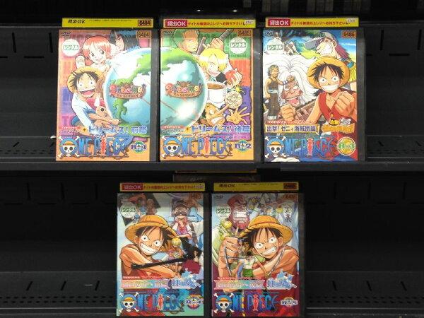 ONEPIECEワンピースフィフスシーズン1〜5(全5枚)(全巻セットDVD) 2002年 |中古DVD 中古