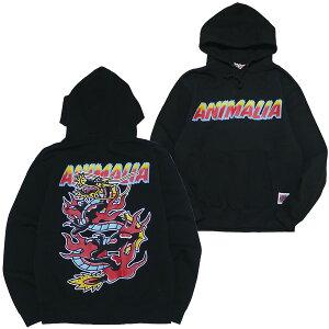 ANIMALIA[アニマリア]プルオーバードラゴンパーカ/BLACK