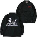 ANIMALIA[アニマリア]カスクンコーチジャケット/BLACK