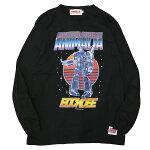 ANIMALIAアニマリア:長袖カスクンフォーマーズTシャツ/BLACK